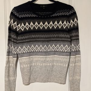Pre-owned J Crew Women's Small Fair Isle Sweater